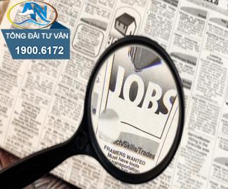 Thông báo tìm kiếm việc làm