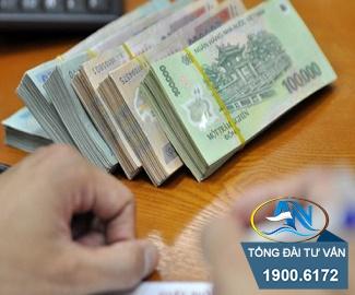 Tiền TCTN khi đóng 8 năm 7 tháng
