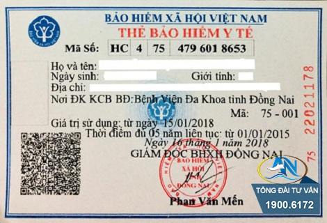 Thủ tục cấp lại thẻ BHYT bị mất 2019