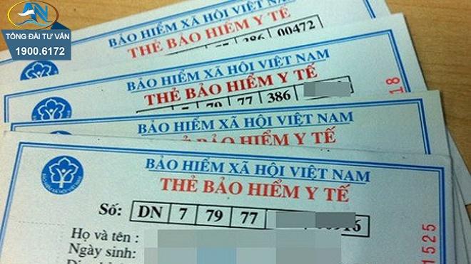 Hưởng TCTN còn được cấp thẻ BHYT
