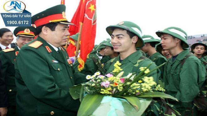 Đi nghĩa vụ quân sự được hưởng TCTN